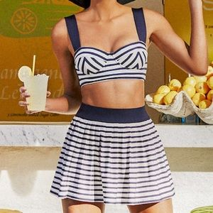 Kate Spade ♠️ Bikini Top and Swim Skirt